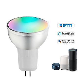 V18 Смарт WIFI Светодиодная лампа RGB'W светодиодная лампа