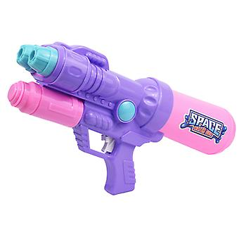فوهة مزدوجة بندقية المياه لعبة سحب الأطفال & s مضخة الهواء المياه بندقية الشاطئ اللعب وركوب الرمث لعبة الصيف 550ML