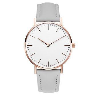 Fashion Leather Simple Quartz Bracelet Wrist Watch