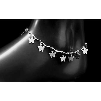 Silver Heart Pandent Anklets Braceletson Leg Chain