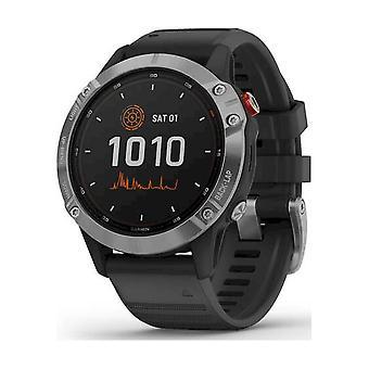 Garmin - Smartwatch Unisex fenix 6 Solar Silver 010-02410-00