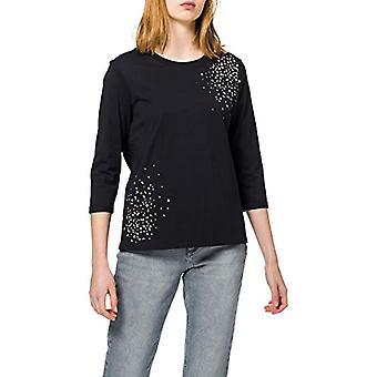 edc de Esprit 011CC1K317 Camiseta, 001/negro, XS Mujeres