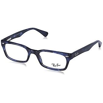 Ray-Ban RX5150 Reading Glasses, Blue, 52 Unisex-Adult