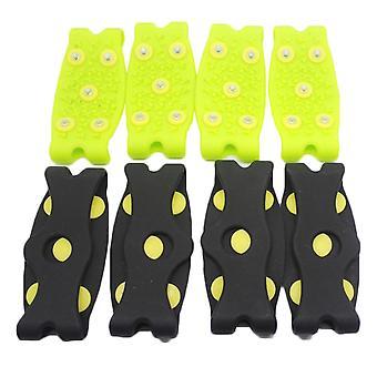 للجنسين الشتاء 7 الأسنان الأحذية المسامير سبيكة مضادة للجليد على المسامير الأحذية
