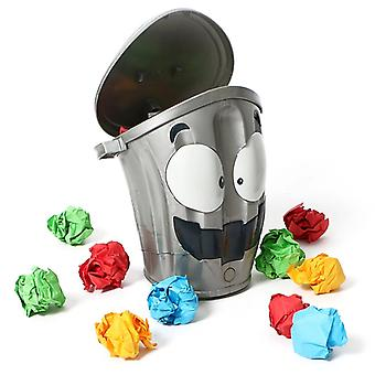 Electric Crazy Trash Can, Decompression Toy, Suitable For Indoor Competitive Shooting