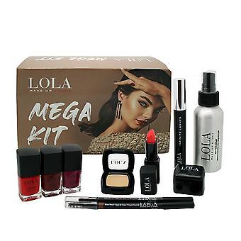 Lola make up by perse mega kit gift box