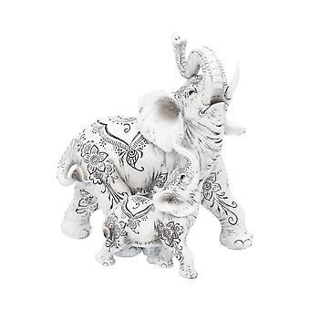 Estatueta de Elefante da Felicidade de Henna