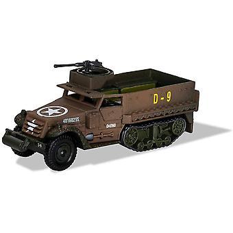Corgi Mim M3 Half-Track 41st Armoured Infantry 2nd Armoured Division Diecast Model