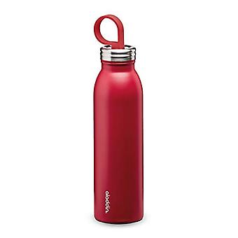 Aladdin Chilled Thermavac Stainless Steel Water Bottle 0.55L Cherry Red