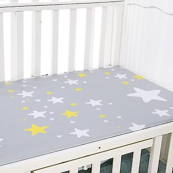 new e baby mattress cover crib fitted bed sheet sm17966