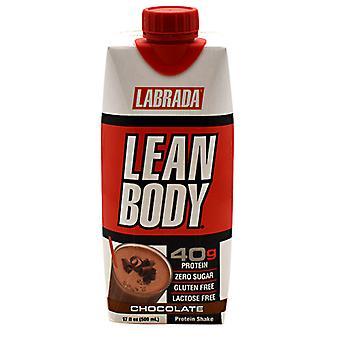 LABRADA NUTRITION Lean Body On the Go Shake, Chocolate Ice Cream 12/14 oz