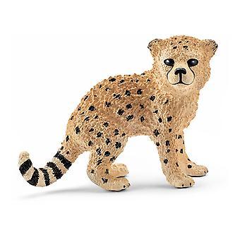 Schleich Wild Life - Cheetah Cub Figur
