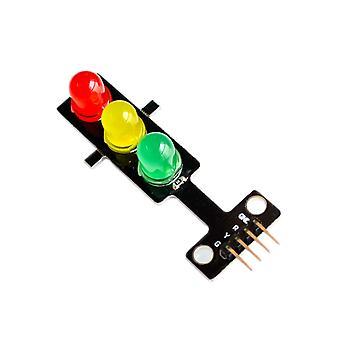 100Pcs led traffic lights light-emitting module / digital signal output traffic light module / electronic building blocks