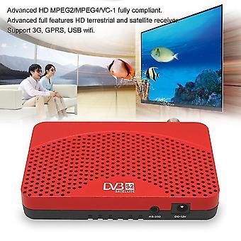 Universele Dvb-s2 + iptv + iks Tv Box Top Advanced Full Hd Combo Receiver