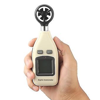 Mini numérique portable Wind Speed Meter Scale Anémomètre Thermomètre