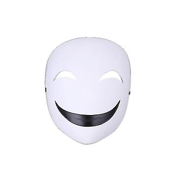 Maschera Cosplay Viso Ottone Resina Casco Gioco Costume per Uomo Halloween (GROUP4)