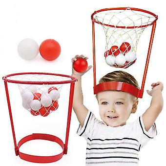 Children's Sports Mini Headband Basketball Hoop Game Toys Outdoor Toy With 20pcs Ball