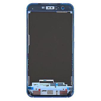 til HTC U11 Front Housing LCD Frame Bezel Plate(Blå)