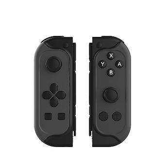 בקר אלחוטי עבור נינטנדו מתג שמחה עם זוג Bluetooth Gamepad ג'ויפד ג'ויסטיק להחליף נינטנדו מתג ג'ויפד עם טורבו ג'ירו ציר לכידה(שחור)