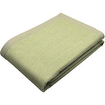 Mcalister textiles hareng sauge sauge verte jeter couverture