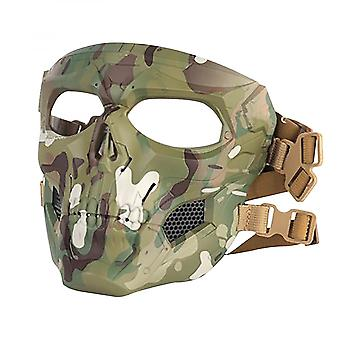 Skull Full Face Mask Outdoor Riding Sand Mask Personalized Dress