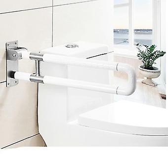 Roestvrij staal vouwen veiligheid grijper bar-toilet leuning