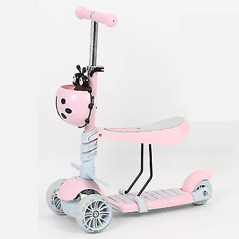 Flash Wheel Pedal Scooter