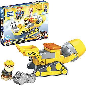 Mega Bloks Paw Patrol The Movie Rubble's City Construction Truck Playset