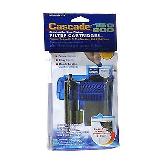 Kaskadi 150/200 Kertakäyttöinen hammaslanka & hiilitehosuodatinpatruunat - 3 pakkausta