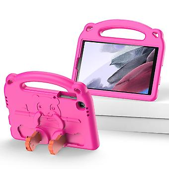 Case For Samsung Galaxy Tab A7 Lite 8.7,shockproof Lightweight Convertible Handle Stand Protective Kids Child Cover - Pink Panda