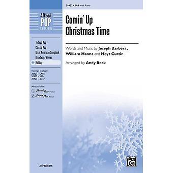 Comin Up Christmas Time SAB