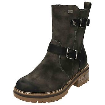 Rieker Tex Chunky Ankle Boots Warm Lined 96274-45