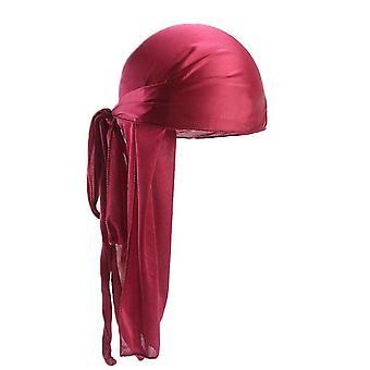 Long Tail Silky Scarf Muslim Doo Rag Pirate Hat Durag