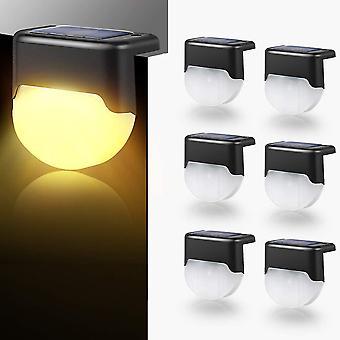 6 sztuk świateł solarnych, automatyczny przełącznik, nadaje się na dziedzińce