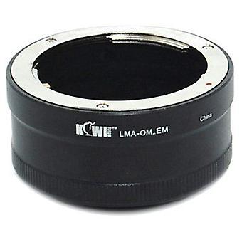Kiwifotos lente adattatore di montaggio: Permette di Olympus Zuiko OM montare lenti essere utilizzato su qualsiasi corpo della fotocamera di Sony E-Mount-NEX-3 NEX-5, NEX-5N, NEX-7, NEX-C3