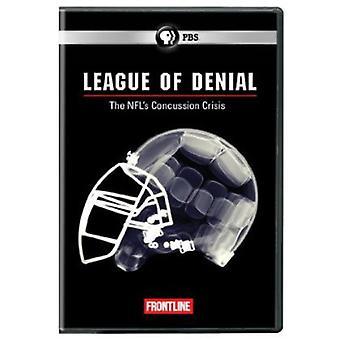 Frontline - Frontline: League of Denial: importazione di The NFL commozione cerebrale [DVD] Stati Uniti d'America