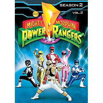 Mighty Morphin Power Rangers Vol. 2-Staffel 2 [DVD] USA importieren