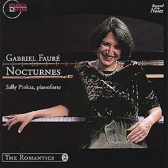 Sally Pinkas - Gabriel Faur : Nocturnes [CD] USA import