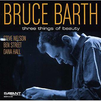 Bruce Barth - importation USA trois choses de beauté [CD]