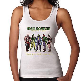 Snake Mountain Training Centre Eternia Skeletor Women's Vest