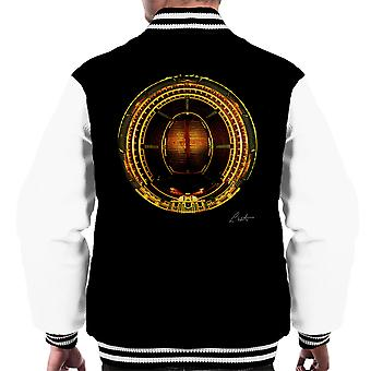 Die Royal Albert Hall Ariel View Men Varsity Jacket
