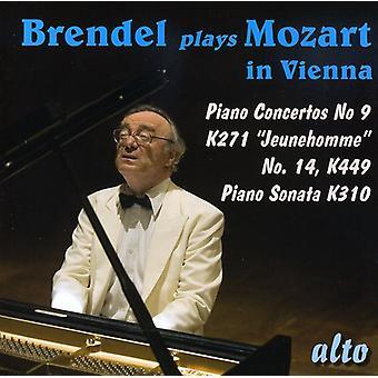 W.a. Mozart - Brendel Plays Mozart in Vienna [CD] USA import