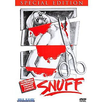 Snuff [DVD] USA import