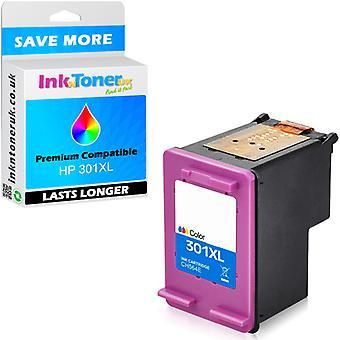 Yhteensopiva HP 301XL Colour CH564EE muste kasetti Officejet 2624-käyttöön