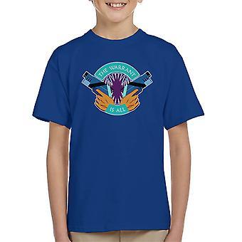 Killjoys The Warrant Is All Kid's T-Shirt
