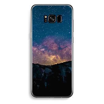 Samsung Galaxy S8 transparentes Gehäuse (Soft) - Reisen in Raum