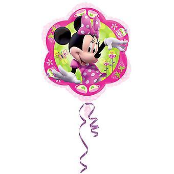Amscan 18 インチ ディズニー ミニーマウス花箔バルーンの形