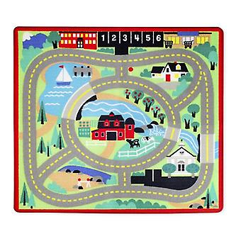 Melissa & Doug Round The Town Road Rug 3yrs+