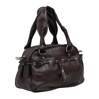Burgmeister ladies bag T217-114 leather  whine red