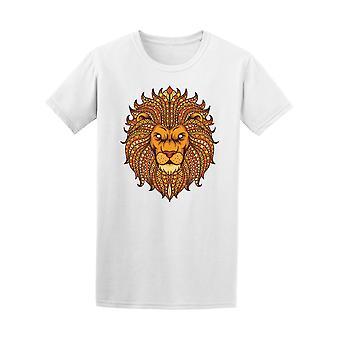 Aztec Lion Head Tee Men's -Image by Shutterstock